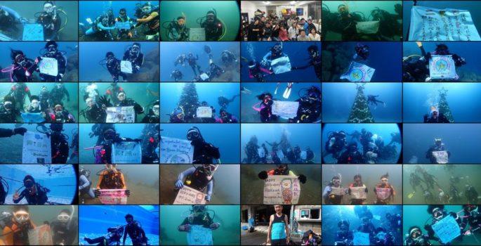2020年振り返り⑤記念ダイブ 静岡市のダイビングショップフリースタイルです。