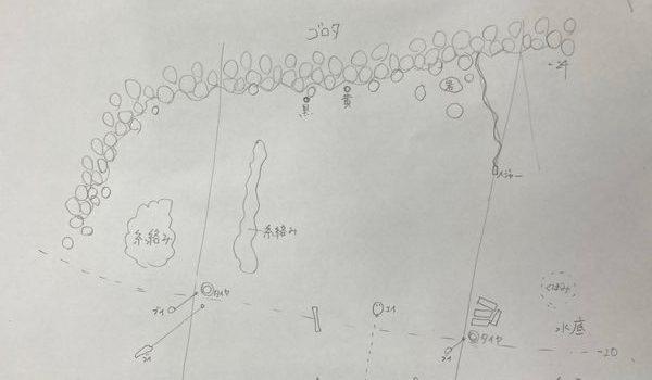 三保で潜ってマップ作成 静岡市のダイビングショップフリースタイルです。