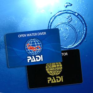 PADI_Cカードライセンス
